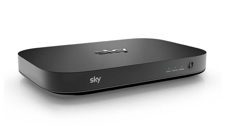 Sky Q broadband and TV hub
