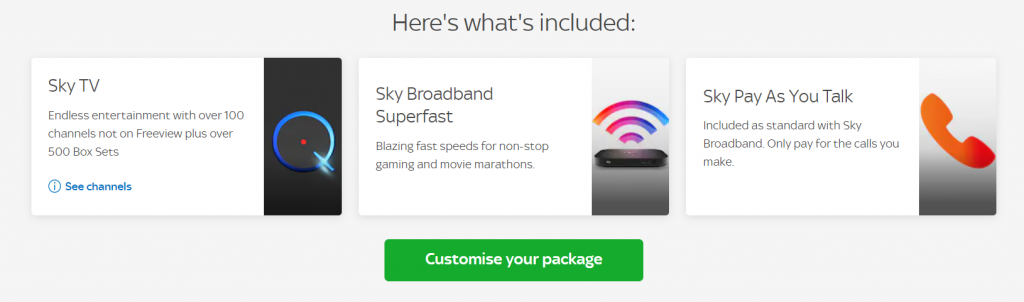 Sky Broadband Deals with BT Sport