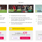 Select BT Sport Package