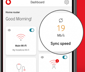 Vodafone broadband test your sync speed